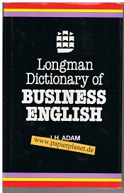 Longman Dictionary of Business English 2nd Impression 1984 (9780582555525)