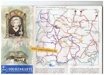 Aral Tourenkarte Schwarzwald. Südlicher Teil 1: 125 000 (BV-Tourenkarte)
