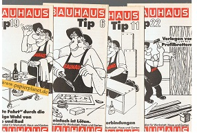 Bauhaus Tip  6, 11, 19, 22 (Ihr Spezialist für Werkstatt, Haus und Garten)