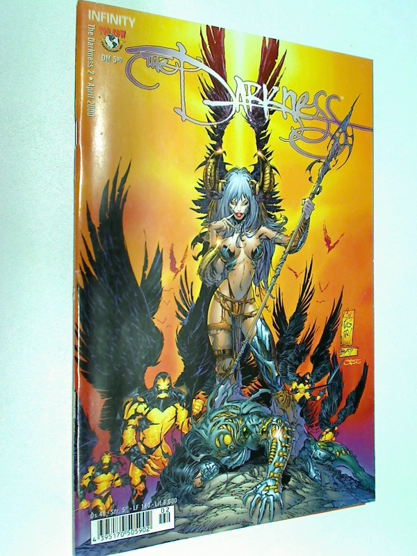 The Darkness 2 , April 2000  (Infinity  Top Cow Comics) Comic-Heft