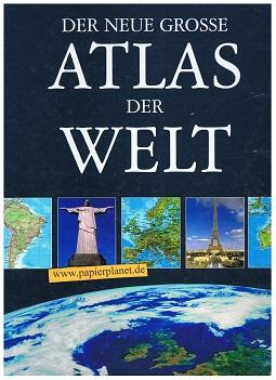 Der neue große Atlas der Welt , alle Kontinente im Maßstab 1: 4,5 Mio. ;  3833600985