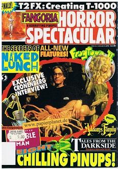 Fangoria Horror Spectacular Issue # 6 Apr 1992, 8 Horrifying Pinups (Horror Magazine)