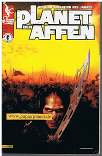 Planet der Affen = Planet of Apes - Movie Adaption,  Panini Generation Dark Horse Comics,