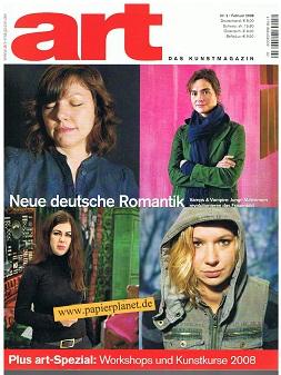 art - Das Kunstmagazin - 2008 Nr. 2 : Neue deutsche Romantik