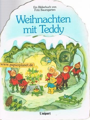 Weihnachten mit Teddy : ein Bilderbuch. Pappbilderbuch ; 3812234513