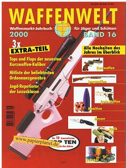 Waffenwelt Band 16 Waffenmarkt-Jahrbuch für Jäger und Schützen