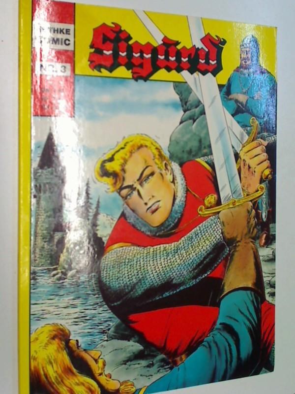 SIGURD Album Nr. 3, Graf Felsingens Verhängnis, 1987,  (Hethke Comic) 3892070350 .