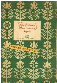 Kinderland-Wunderland 1948. Ein Kinder-Jahrbuch. Mundus Kinderbücher