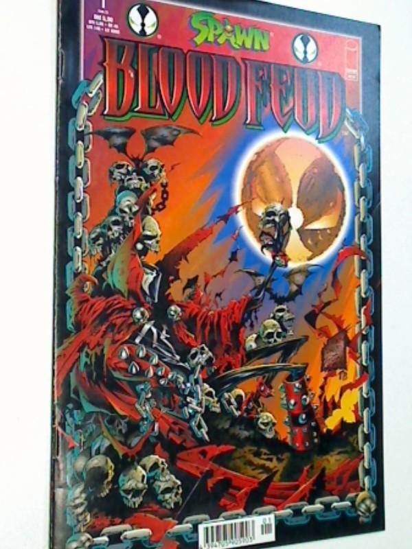 Moore, Alan, TONY DANIEL und Kevin Conrad: Spawn Blood Feud Heft 1 (von 2) Juli 1998, Infinity Image Comic-Heft , 4394705905903