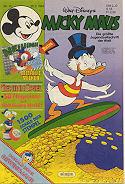 Micky Maus Heft 1984 Nr. 35 , mit Sticker, 25.8.1984 , Comic-Heft, Walt Disneys