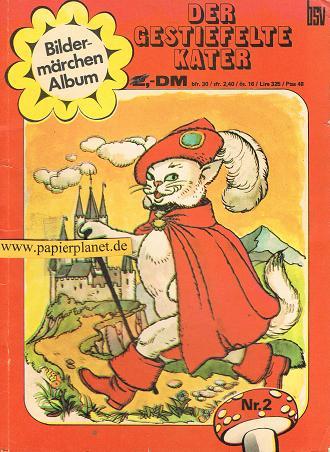 Der gestiefelte Kater, Bildermärchen Album 2  Comic-Heft, BSV Comics