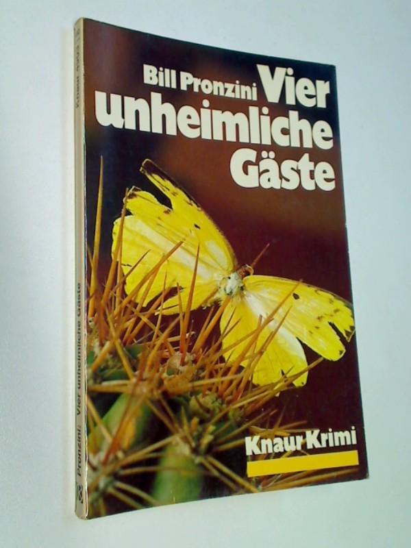 Vier unheimliche Gäste : Kriminalroman. Blowback, Knaur 4903 Knaur-Krimi ; 3426049031