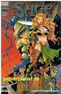 Augustyn, Brian und Romano Molenaar: Legend of the Sage 4 (von 4) , Jan 2002,  Chaos ! Comics,Comic-Heft