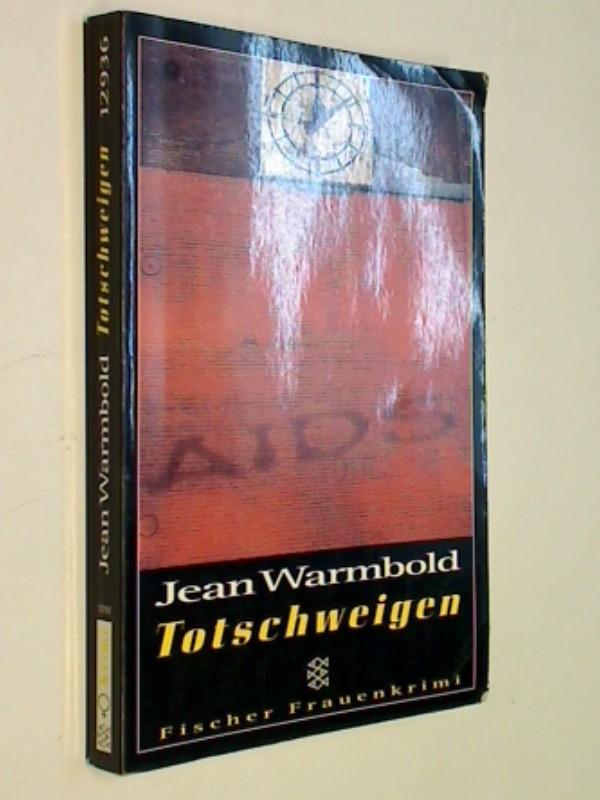 Totschweigen. Fischer 12936 Fischer-Frauenkrimi 3596129362 Aus dem Amerikan. von Susanne Aeckerle. [Für die dt. Übers. wurde der Text von der Autorin neu durchges. und überarb.],
