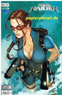 DANIEL, TONY: Lara Croft Tomb Raider 21, 28.10.2004, MG Top Cow Image Comics.  Comic-Heft,