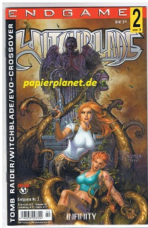 Wohl, David und Francis Manapul: Witchblade Neue Serie 21 , Endgame 2 von 3,  2003, Infinity Top Cow Image Comics.  Comic-Heft ; 3936029563