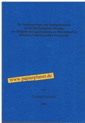 Zur Hydrogeologie des Buntsandsteins in der Mechernicher Voreifel am Beispiel des Quellsystems im Mehlenbachtal (Nördliche Mechernicher Triasbucht). vorgelegt von