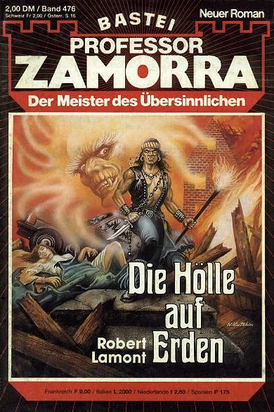 Professor Zamorra 476 , Der Meister des Übersinnlichen, Bastei Roman-Heft