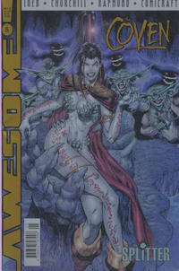 The Coven 5 , Buchhandelsausgabe mit Chromcover, 1998, Awesome Splitter Comic-Heft