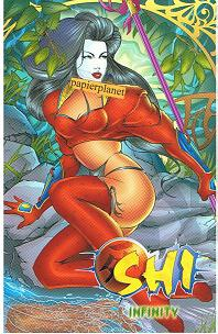 Tucci, William: Shi 1 & 2 ,   1. Auflage 1998, Infinity Crusade Comic ; 3932430816 . Prestige Format