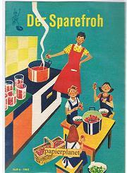 Der Sparefroh 1962 Heft 6 ( Sparkassenwerbeheft)