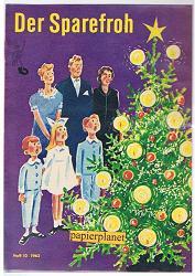 Der Sparefroh 1962 Heft 10 ( Sparkassenwerbeheft)