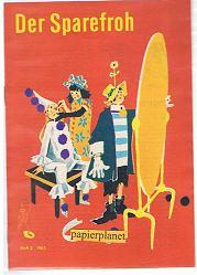 Der Sparefroh 1963 Heft 2 ( Sparkassenwerbeheft)