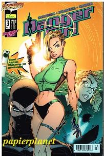 Danger Girl Heft 3 , März 2001, Dino Cliffhanger Comic, Comic-Heft