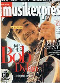 Musikexpress 2001 Heft 6 Bob Dylan  R.E.M.  Travis  Missy Elliott  Air  Semisonic