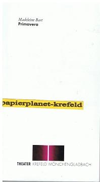 Primavera Ballettabend in 3 Teilen von Madeleine Bart Theater Krefeld Mönchengladbach. Spielzeit 1992/93