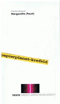 Margarethe (Faust) Oper von Charles Gounod .Theater Krefeld Mönchengladbach. Spielzeit 1995/96