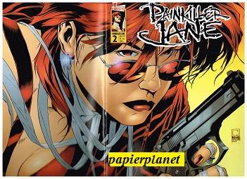 Waid, Mark, Rick Leonardi und Jimmy Palmiotti: Painkiller Jane 2  Dead in the Water, Sept 2000, Panini Generation Event Comics. Comic-Heft