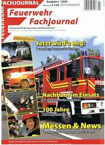 Feuerwehr Fachjournal 2008 Heft 1 , BF Helmond , BRK Regensburg , Feuerwehr Dachau , Museum Fulda