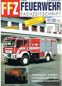 FFZ Feuerwehr Fachzeitschrift 2004 Heft 9 , ELW 1 FF Münster , LF 10/6 Katastrophenschutz Hessen , LF 24 FF Grünstadt, FF Hilpoltstein