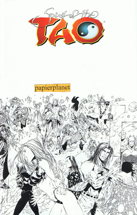 Tan, Billy: Spirit of the Tao 12 Black & White Preview,  Juni 2000, Infinity Top Cow Comics,Sonderausgabe zum Comic-Salon Erlangen ,  Comic-Heft