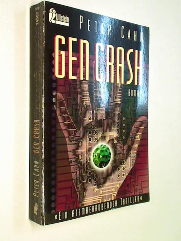 Gen Crash. Thriller Roman,  Ullstein 24007