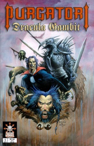 Quinn, David, Brian LeBlanc und Brian Pulido: Purgatori - Dracula Gambit 1 , Nov 1998,   Chaos! Comics, Comic-Heft