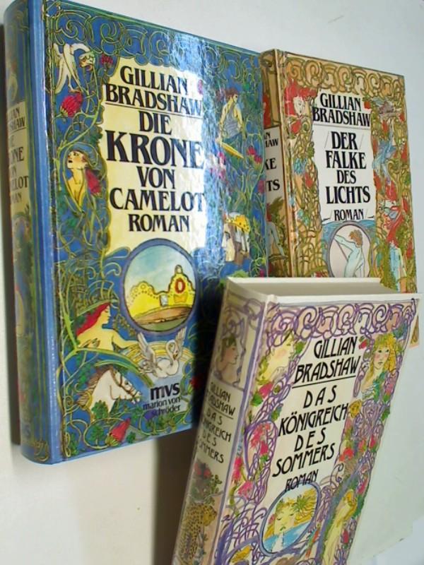 Die Krone von Camelot, Das Königreich des Sommers, Der Falke des Lichts , Die Artus-Trilogie (=komplett), Sonderausgaben