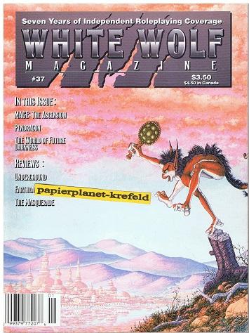 White Wolf Magazine No. 37