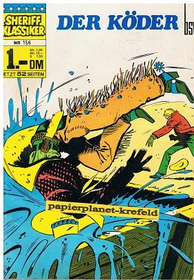 Sheriff Klassiker 156 ,  BSV Comics, Comic-Heft