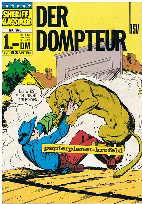 Sheriff Klassiker 160 , BSV Comics, Comic-Heft