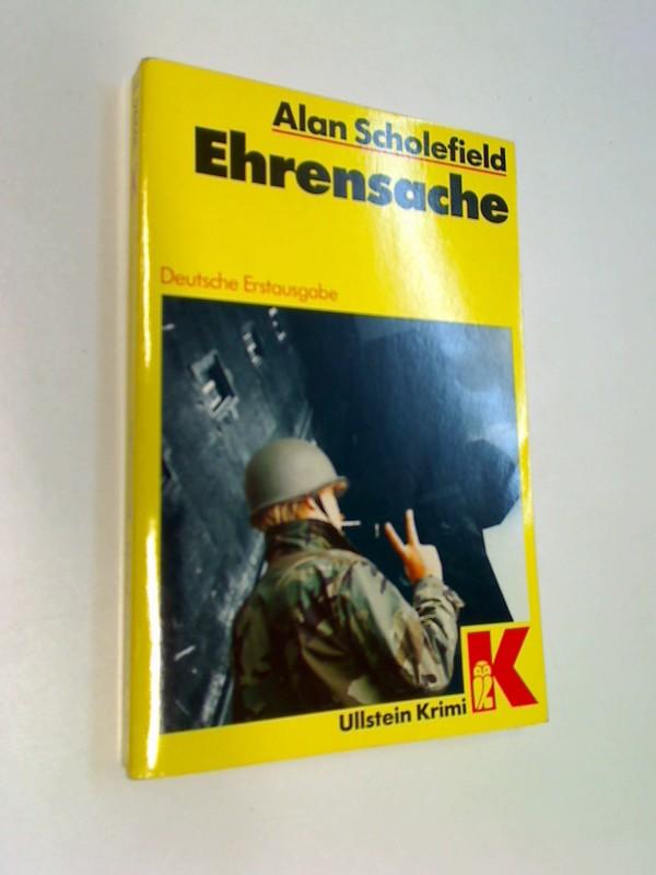 Ehrensache. = Point of honour, Ullstein 10296 : Ullstein-Krimi Übers. von Bernd W. Holzrichter Dt. Erstausg.