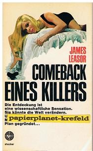 Comeback eines Killers. Shocker 63 = Passport for a pilgrim [Aus d. Engl. übers. von Heinz Kausträter],