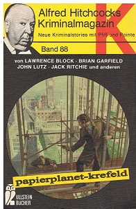 Alfred Hitchcocks Kriminalmagazin 88, Ullstein Bücher 1835