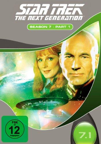 Sir, Patrick Stewart: Star Trek - The Next Generation: Season 7, Part 1 [3 DVDs]