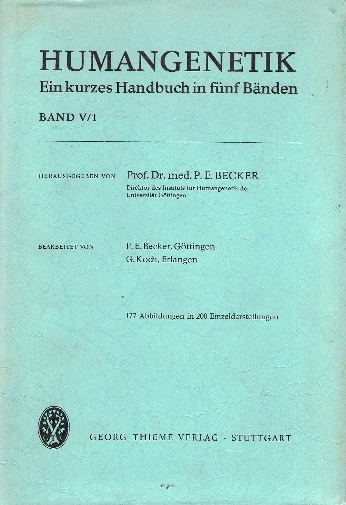 Humangenetik Bd. 5 Krankheiten des Nervensystems 1.