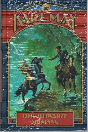 Der schwarze Mustang. Die Amerika-Erzählungen. Karl May Klassiker in illustrierten Ausgaben.