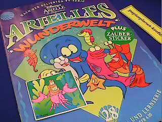 Arielle s Wunderwelt 28,  Meerjungfrau. Eine Märchen-, Spiel- und Lernserie