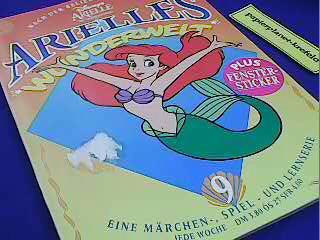 Arielle s Wunderwelt 9, Meerjungfrau. Eine Märchen-, Spiel- und Lernserie