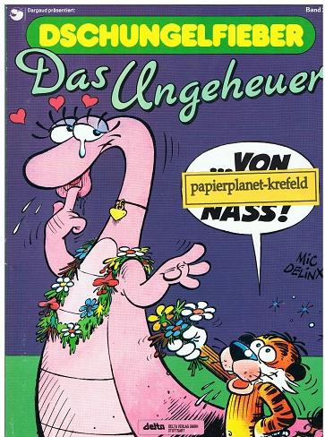 Dschungelfieber Bd. 2 Das Ungeheuer , Ehapa Comic Collection, 1. Auflage 1989,  3770423410